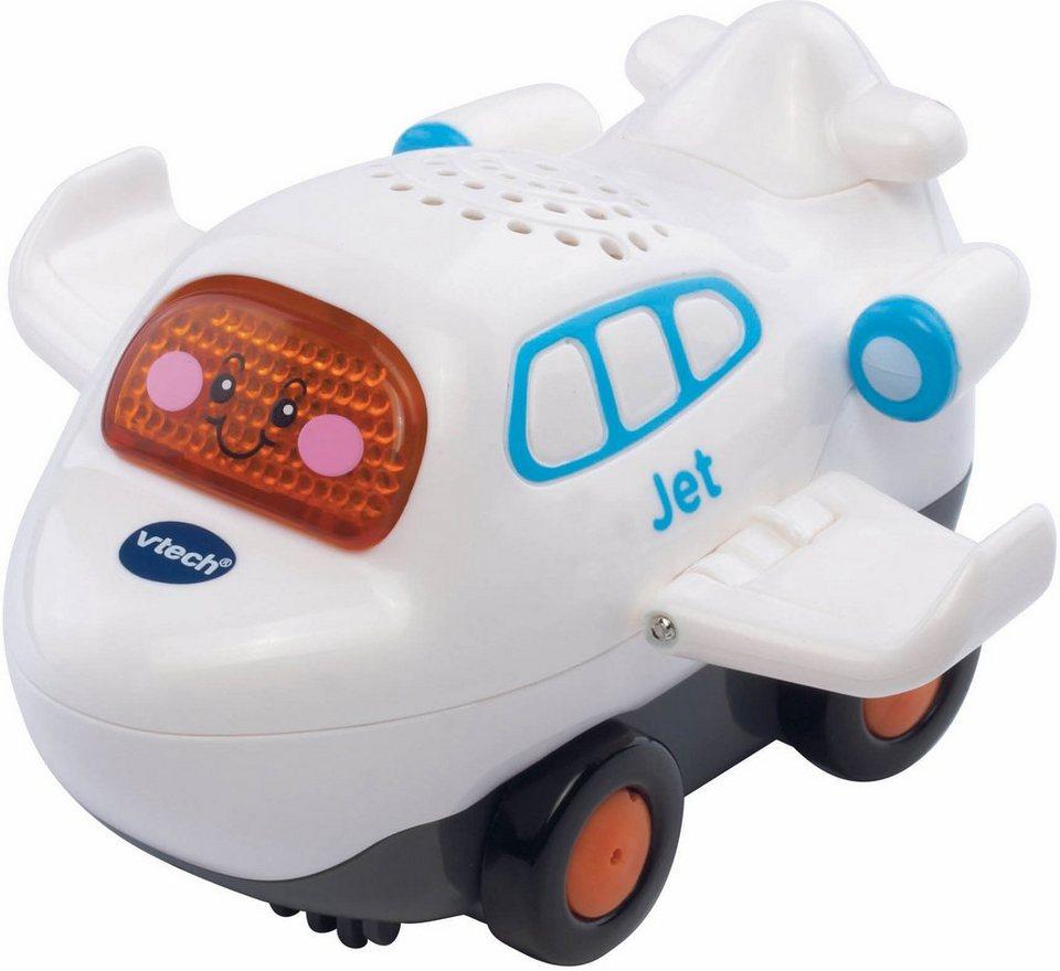 VTech Spielfahrzeug mit Licht und Sound, »Tut Tut Baby Flitzer Jet« in Weiß
