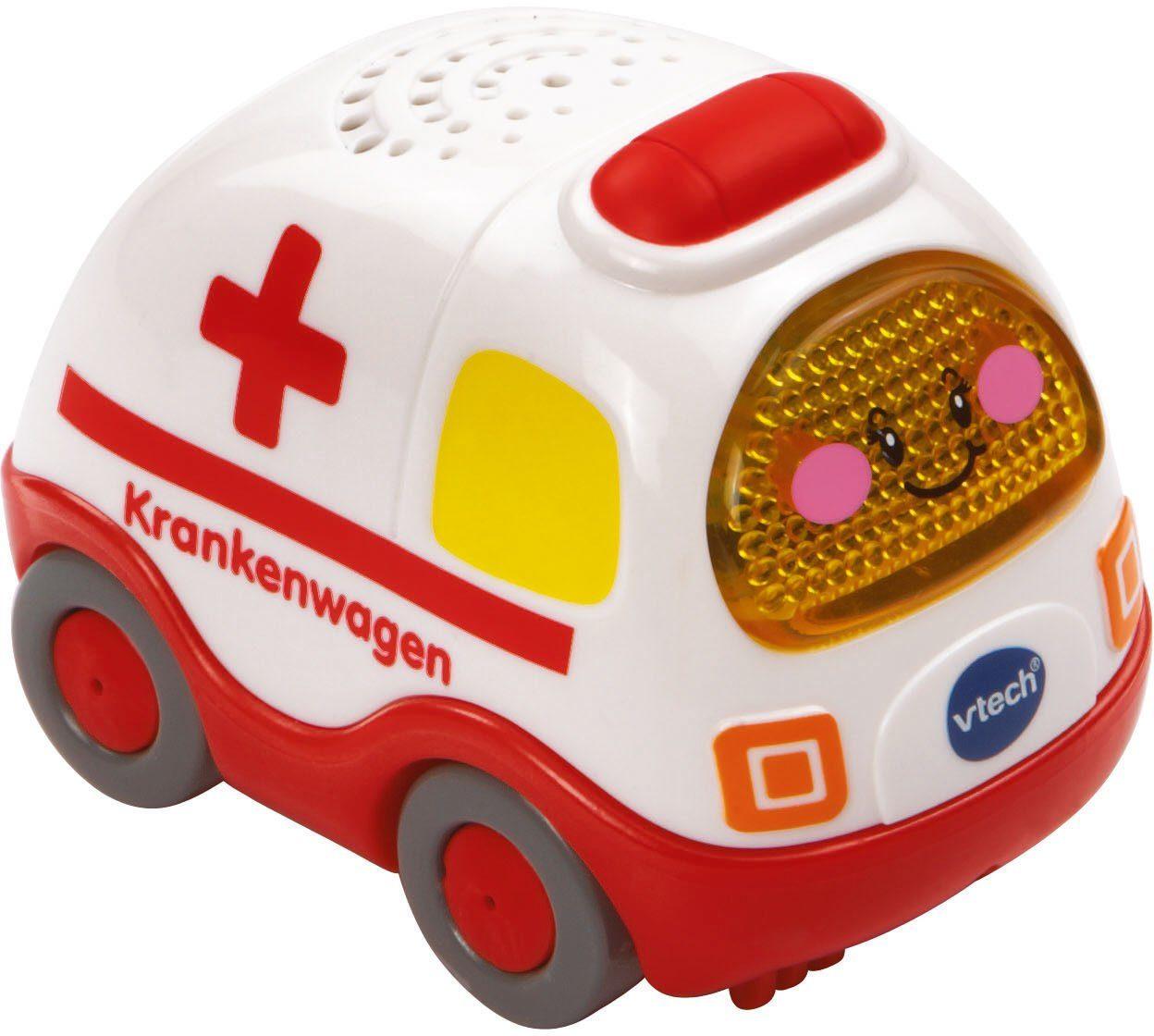 VTech Spielfahrzeug mit Licht und Sound, »Tut Tut Baby Flitzer Krankenwagen«