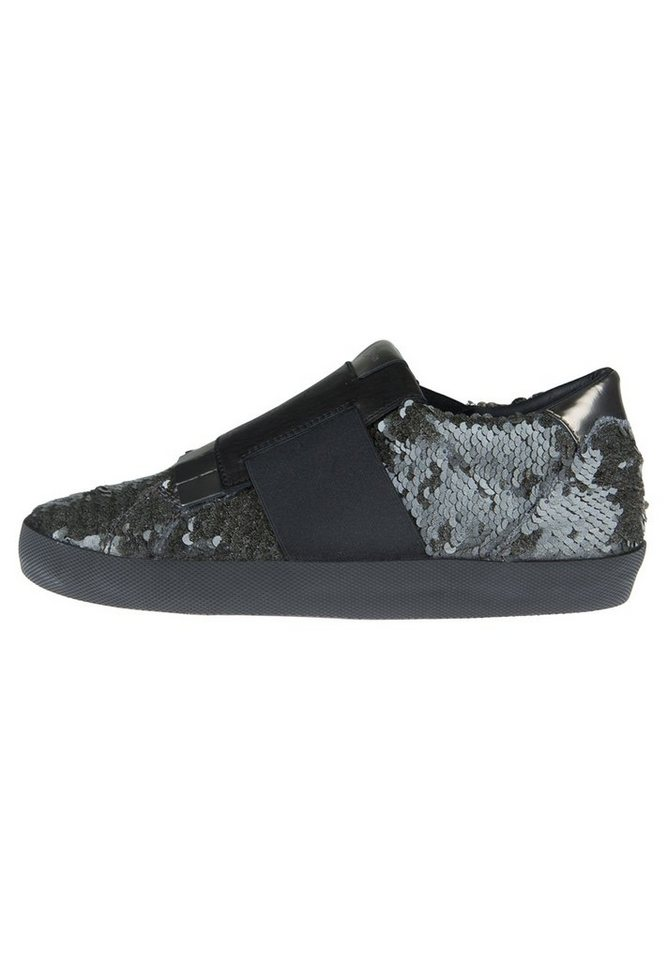 Donna Carolina Sneaker »MIX STONE« in grau/schwarz