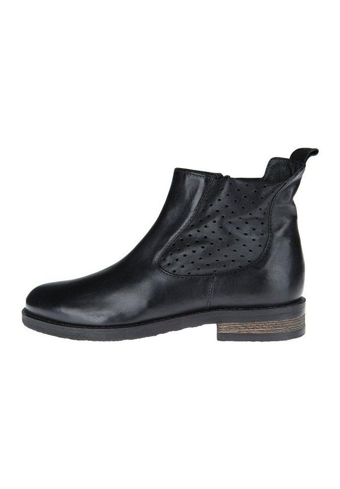 Donna Carolina Chelsea Boot »PONCHO NERO LONDON« in schwarz