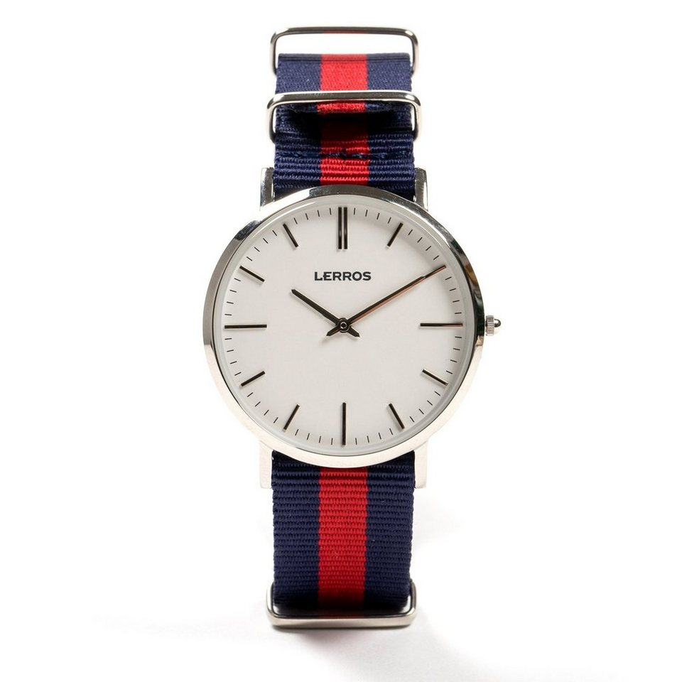 LERROS LERROS Uhr 'WAYNE' in BLUE