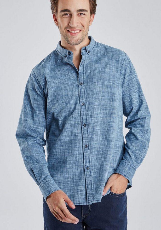 PIONEER Hemd in hellblau