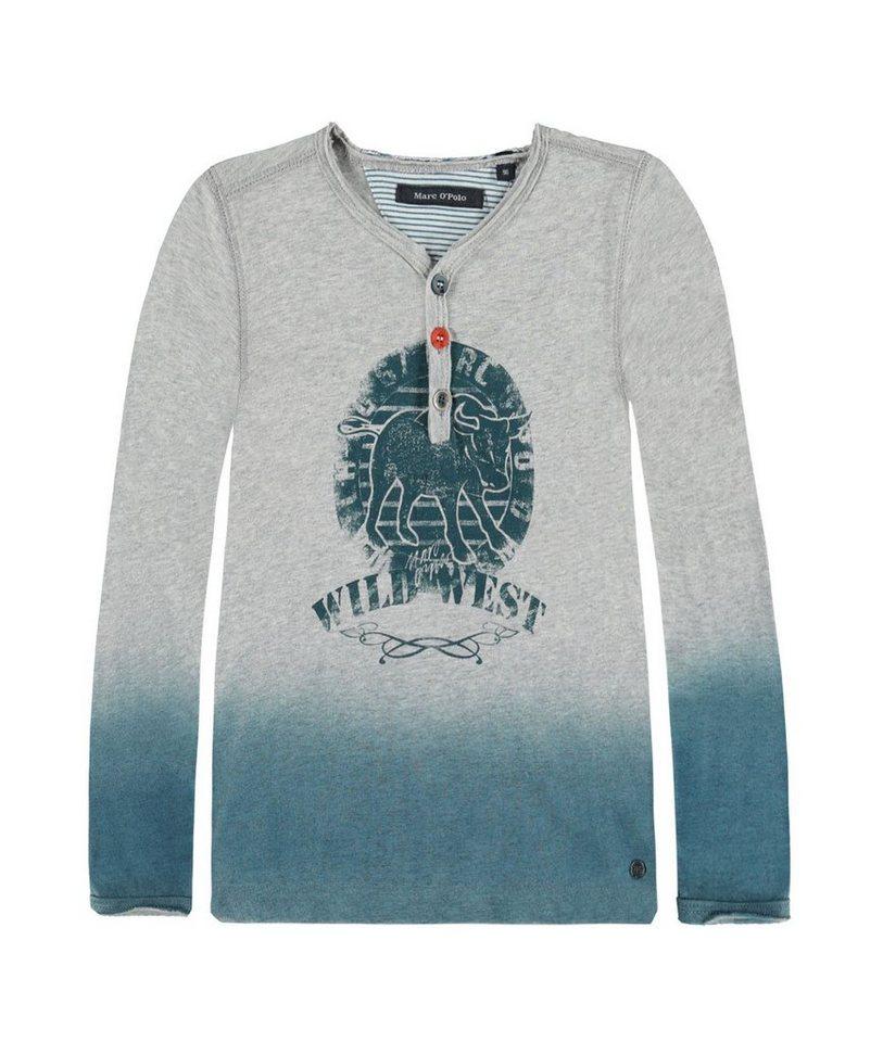 Marc O'Polo Junior T-Shirt langärmlig 1 in Grau