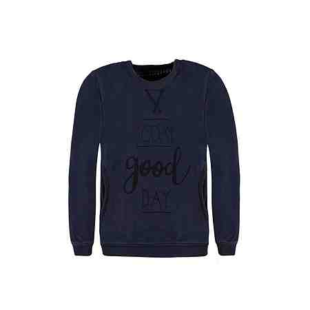 Marc O'Polo Junior Sweatshirt langärmlig Washed-Out-Optik 1