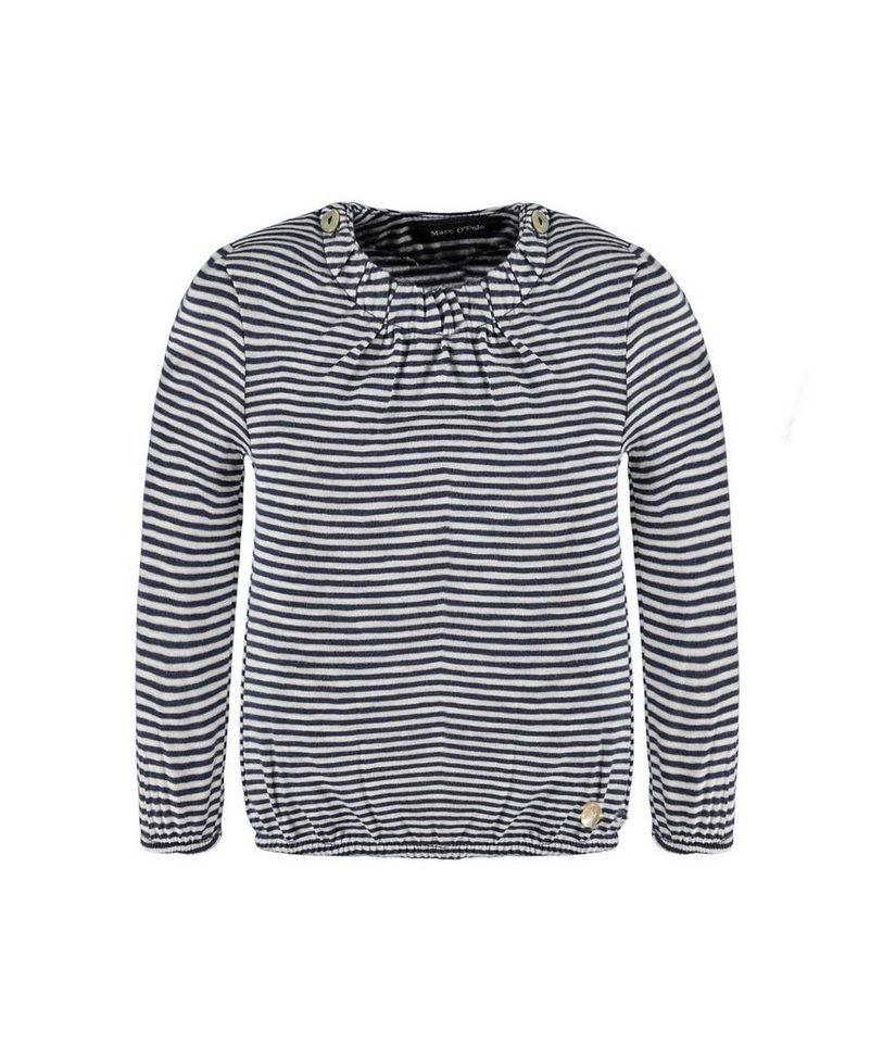 Marc O'Polo Junior T-Shirt langärmlig Miniringel 1 in Mehrfarbig