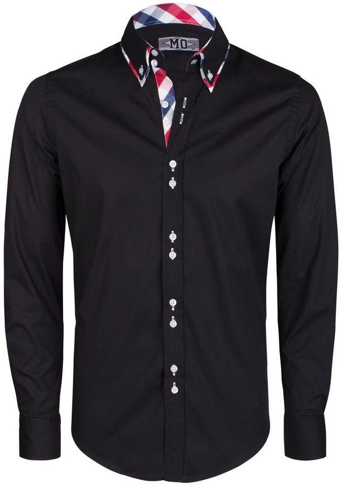 MO Hemd in schwarz
