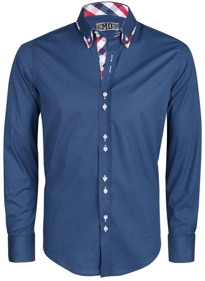 MO Hemd in blau