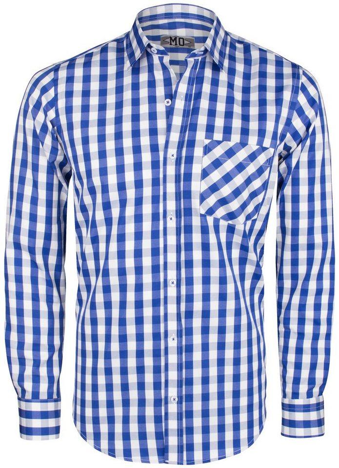 MO Hemd in blau-weiß
