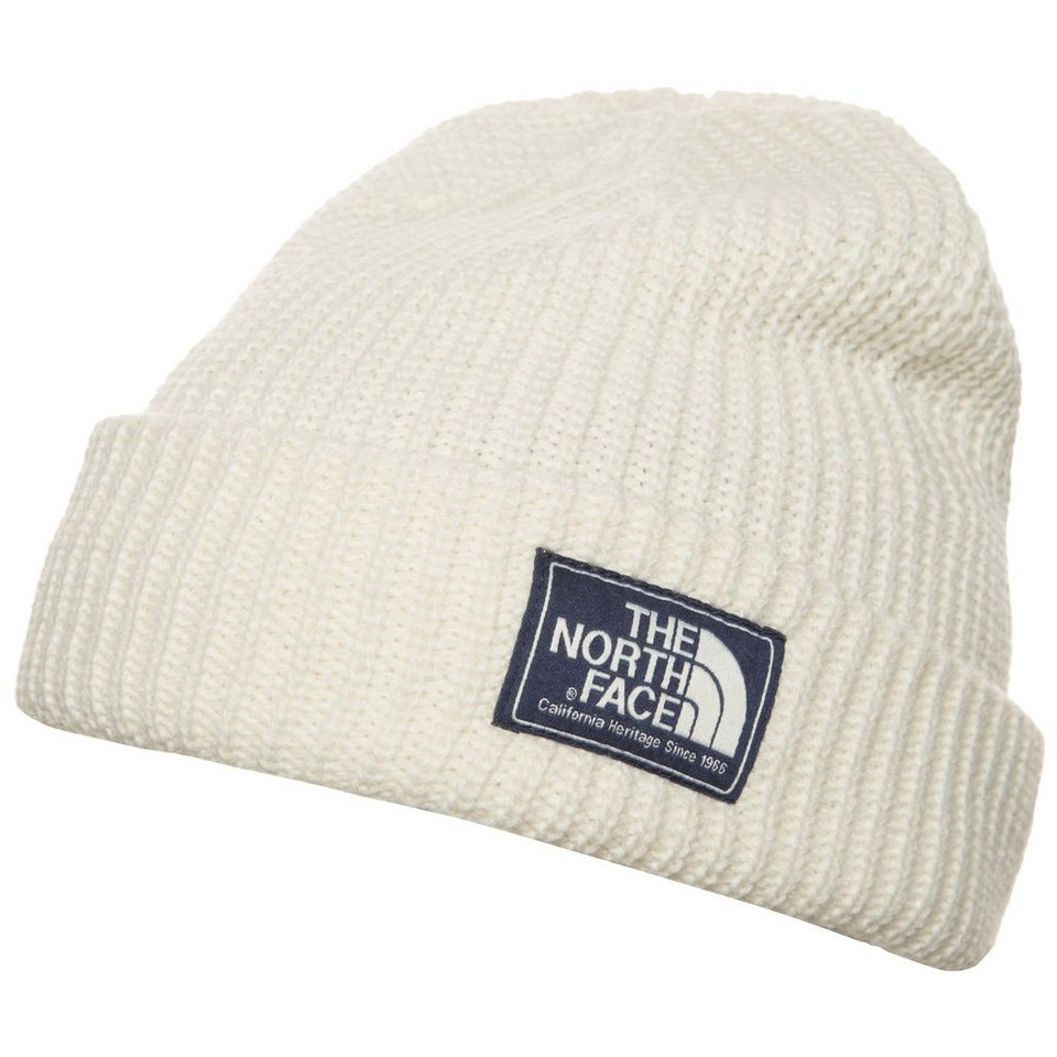 THE NORTH FACE Salty Dog Beanie in creme / dunkelblau