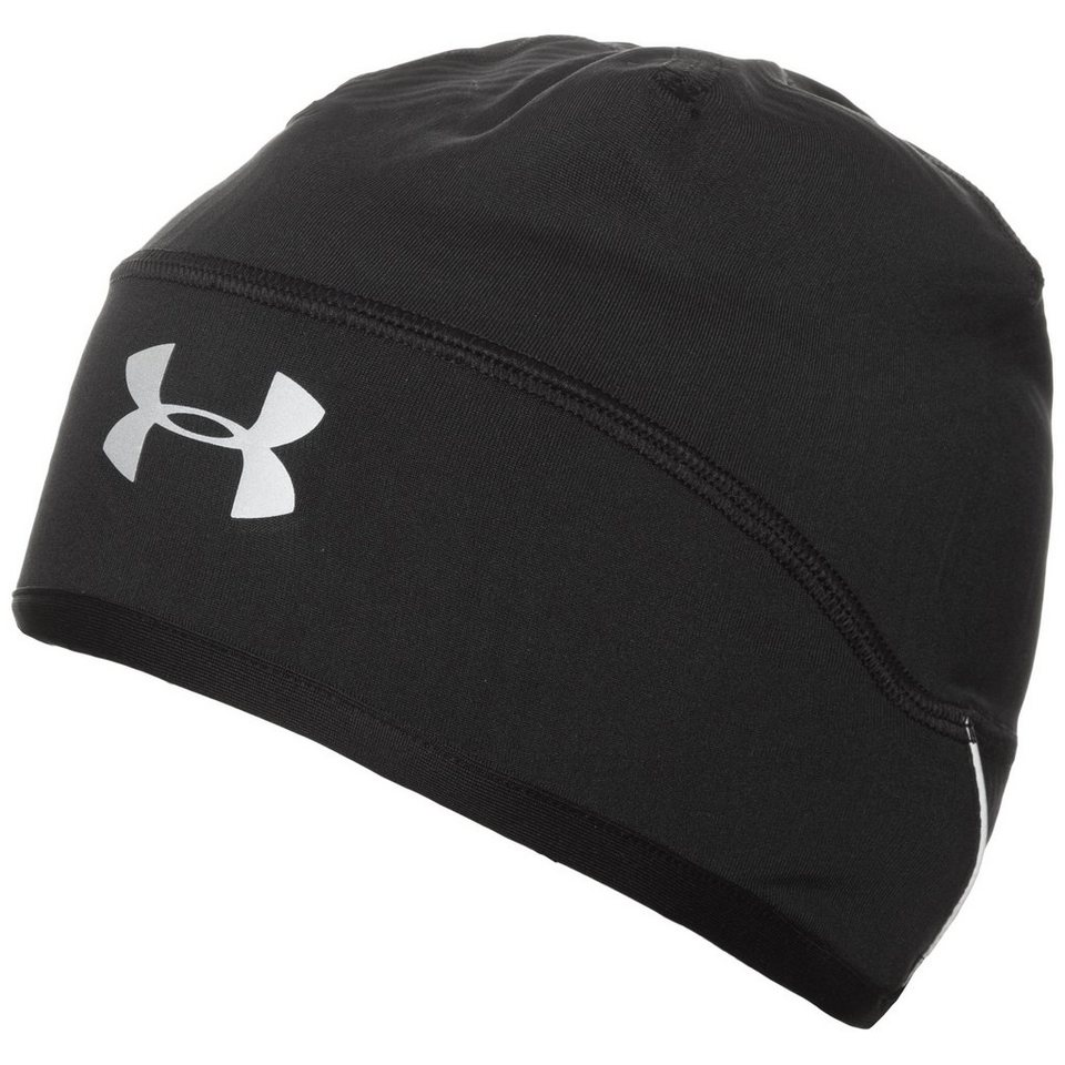 Under Armour® ColdGear Infrared Laufbeanie Herren in schwarz