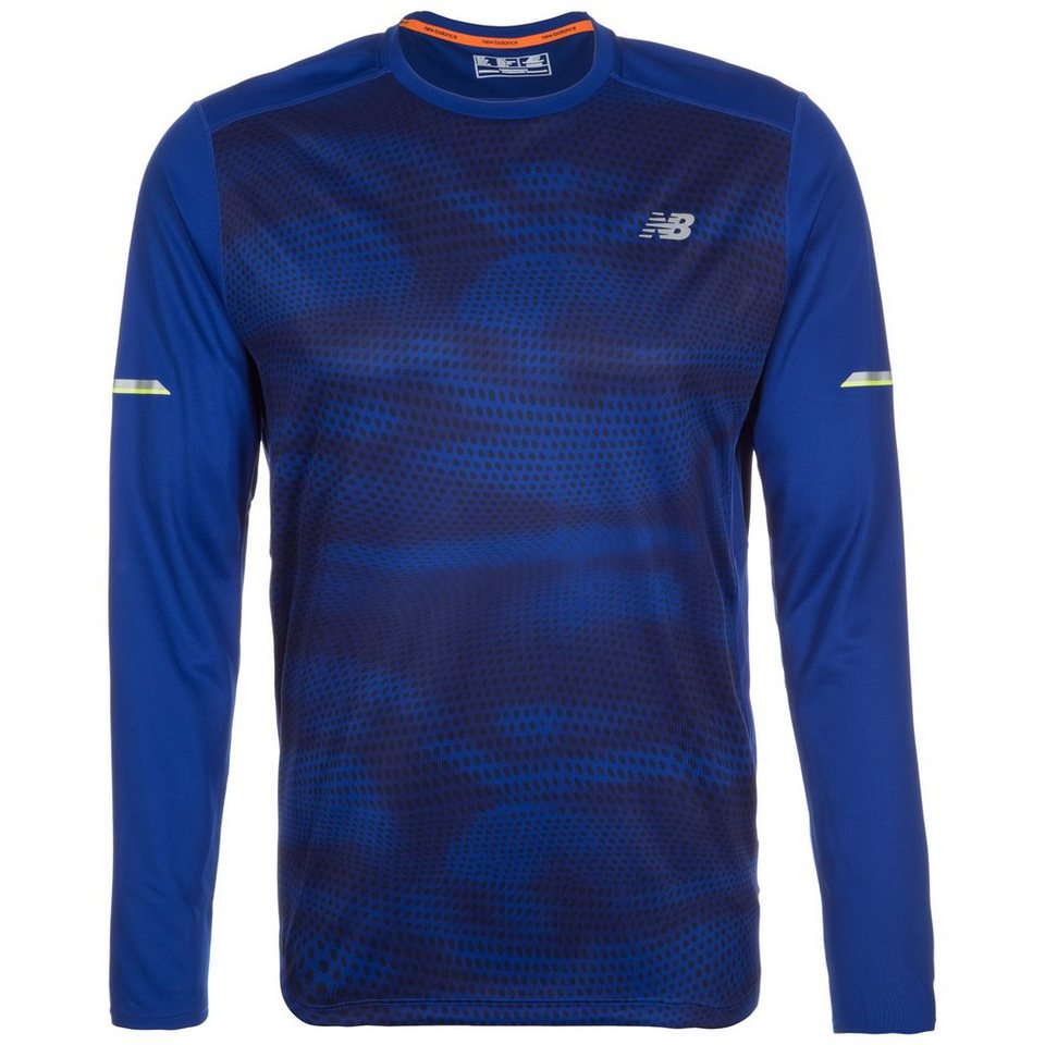 NEW BALANCE Ice Laufshirt Herren in blau