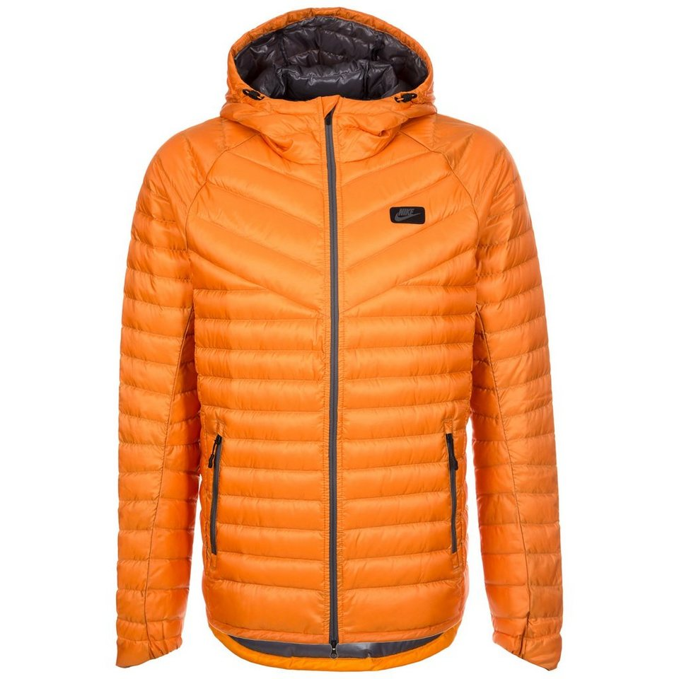 Nike Sportswear Down Fill Hooded Jacke Herren in orange