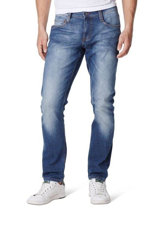 MUSTANG Jeans »Oregon Tapered« in stone