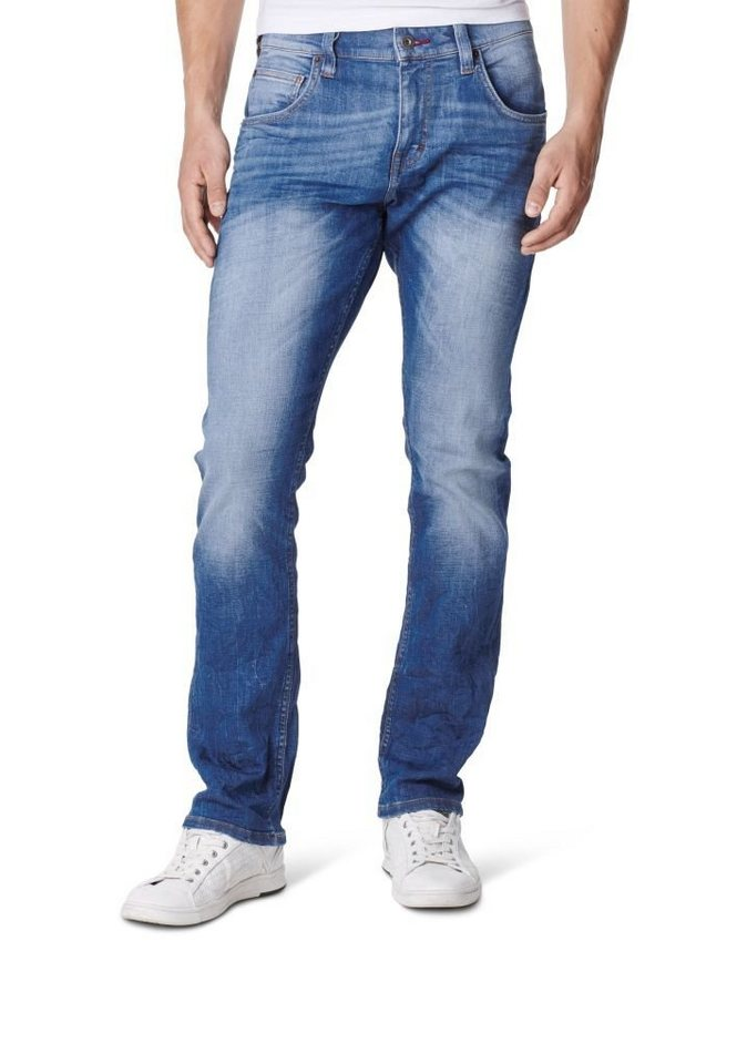 MUSTANG Jeans »Chicago Tapered« in stone