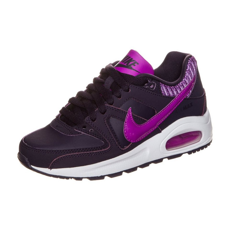 Nike Sportswear Air Max Command Flex Leather Sneaker Kinder in lila / pink
