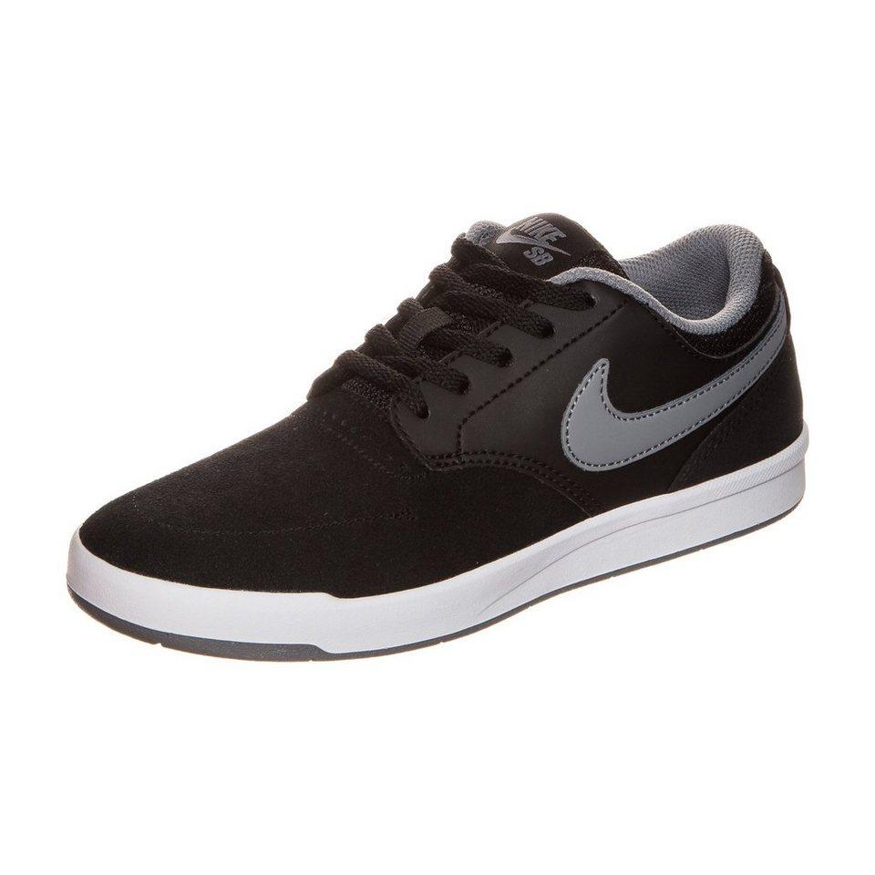 NIKE Fokus Sneaker Kinder in schwarz /grau