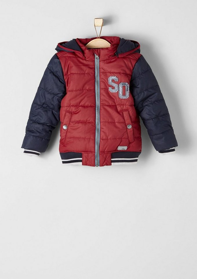 s.Oliver RED LABEL Junior Multifunktionale Winterjacke für Jungen in poppy