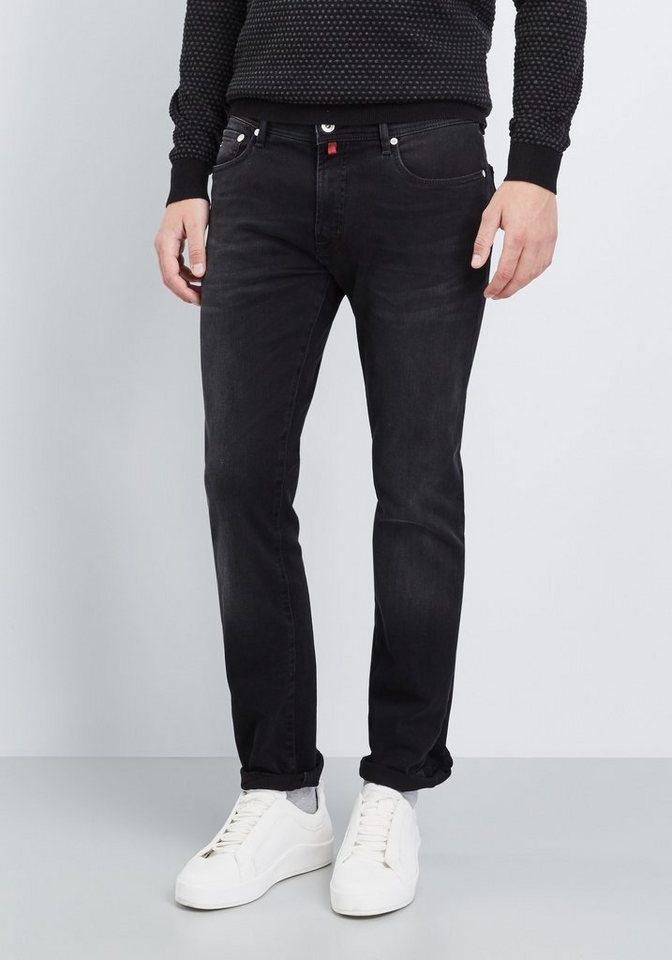 PIERRE CARDIN Jeans »Lyon« in black denim