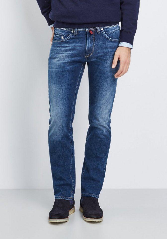 PIERRE CARDIN Jeans »Lyon Selvedge Denim« in used denim