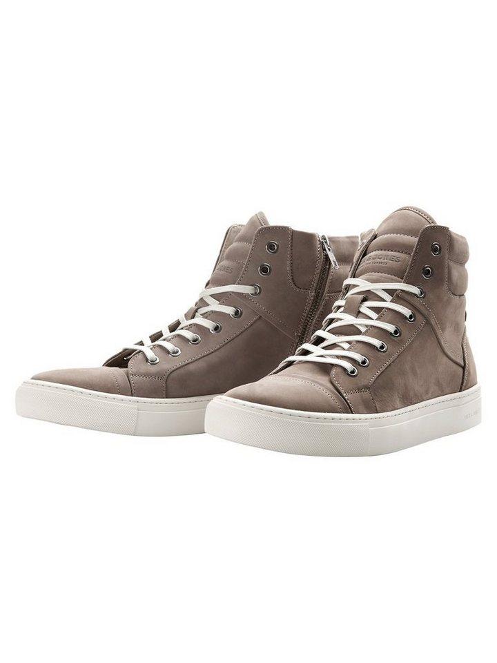 Jack & Jones High-Top- Schuhe in Taupe Gray