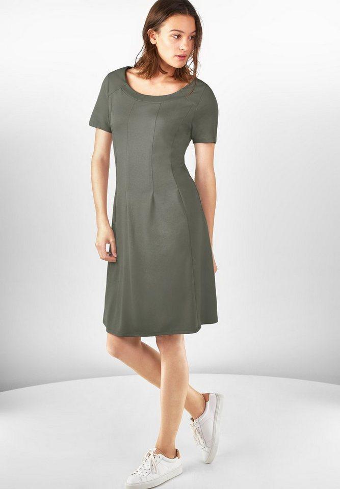 Street One Weiches Jersey-Kleid Eva in dusty olive