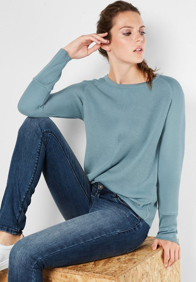 Street One Pullover Ronia in stone jade