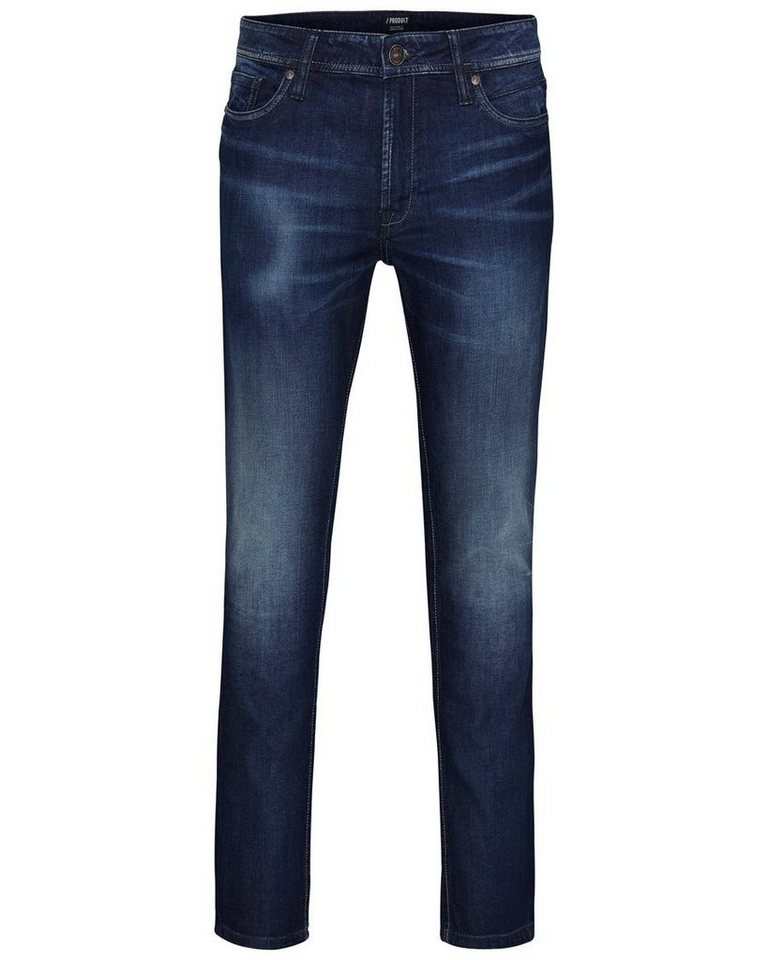 PRODUKT Lässige Skinny Fit Jeans in Blue Denim