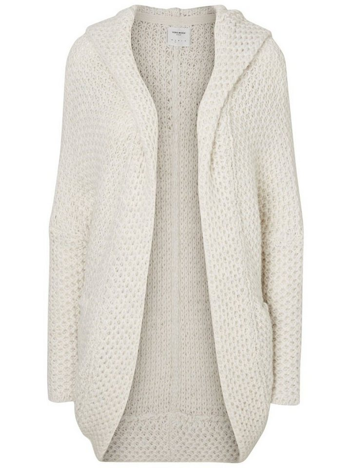 Vero Moda Oversized- Strick-Cardigan in Snow White