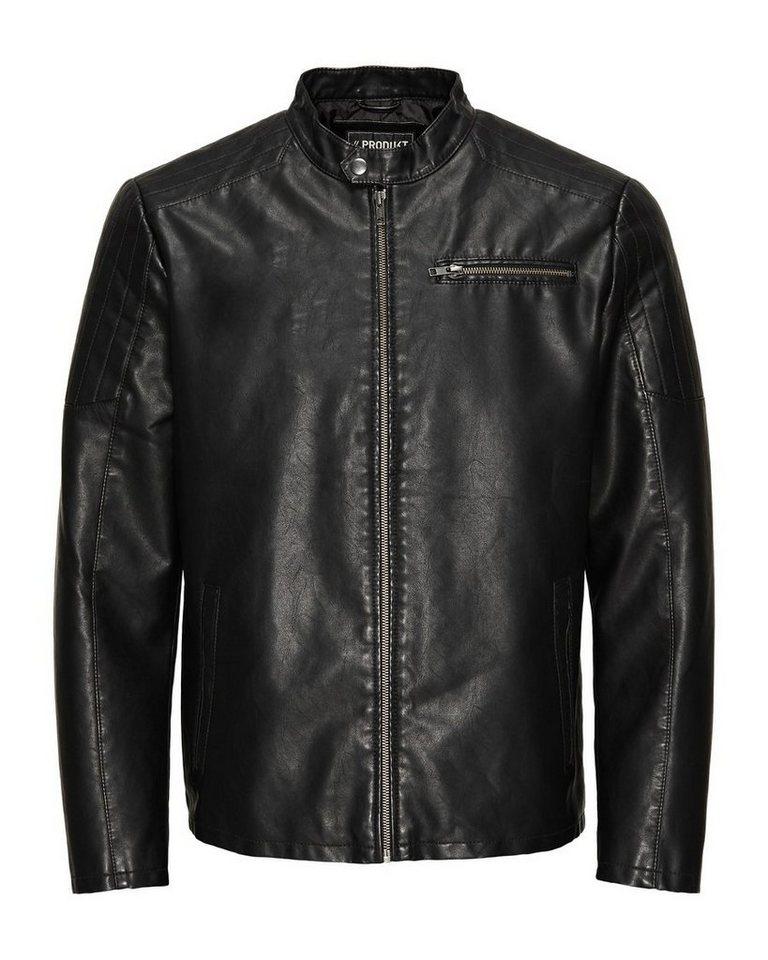PRODUKT Biker- Jacke in Black