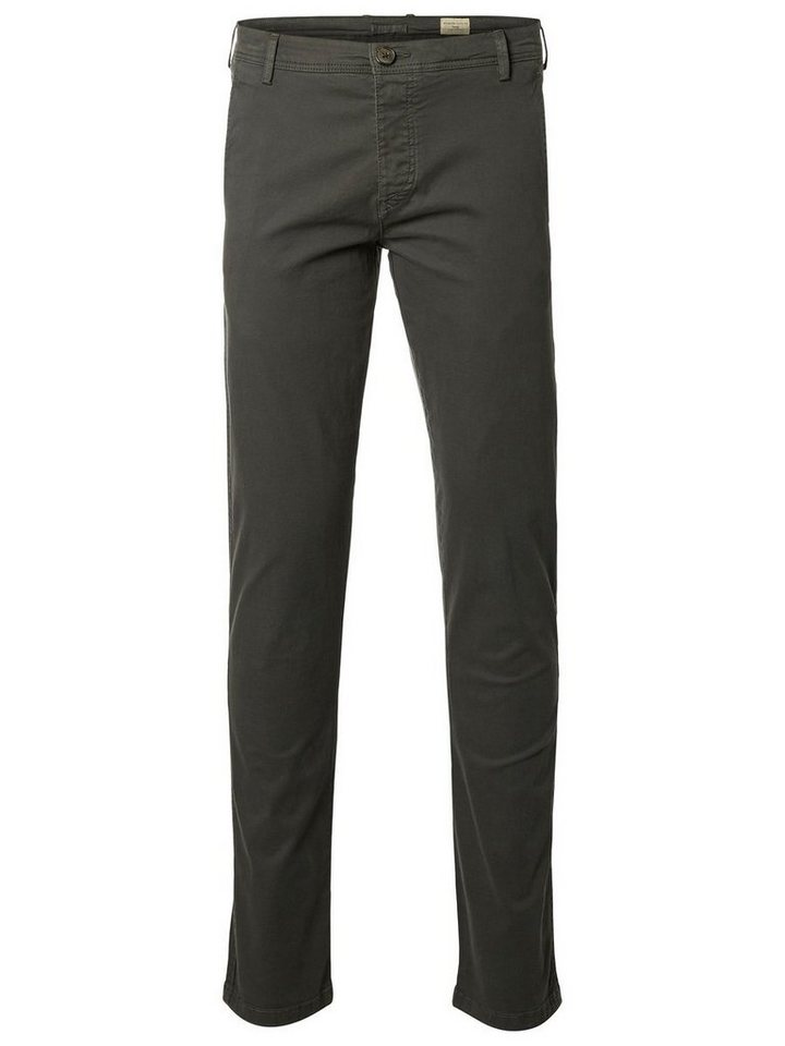 Selected Slim-Fit- Chino in Dark Shadow