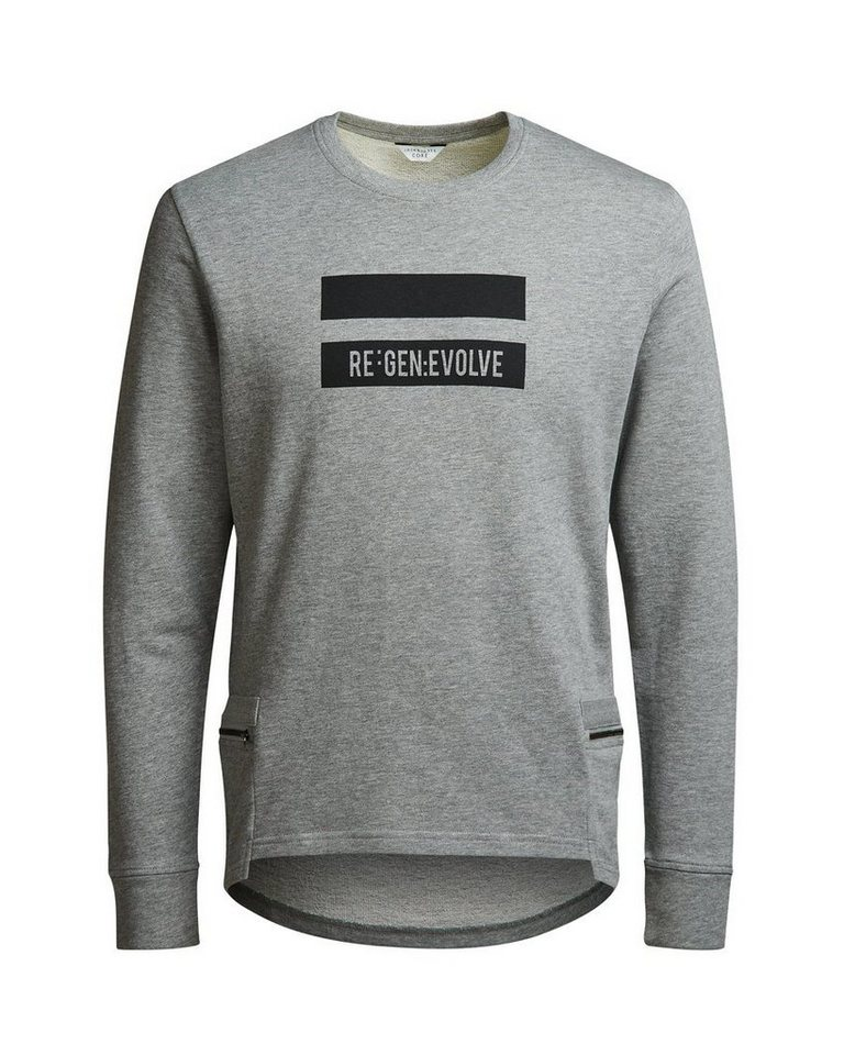 Jack & Jones Detailliertes Sweatshirt in Light Grey Melange