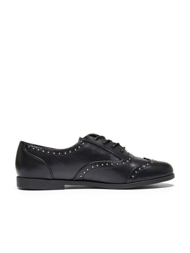 Only Schnür- Schuhe in Black