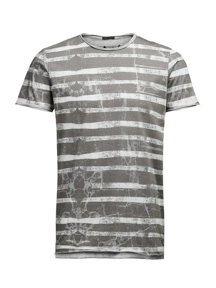 Jack & Jones Gestreiftes T-Shirt in Cloud Dancer