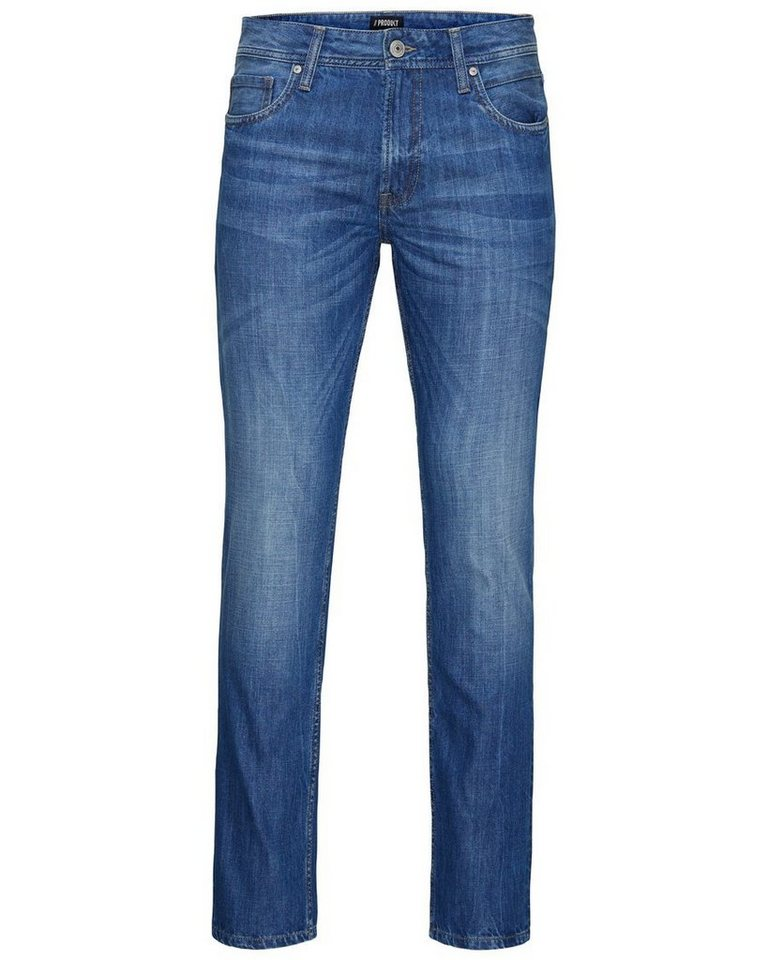 PRODUKT Lässige Regular fit Jeans in Light Blue Denim