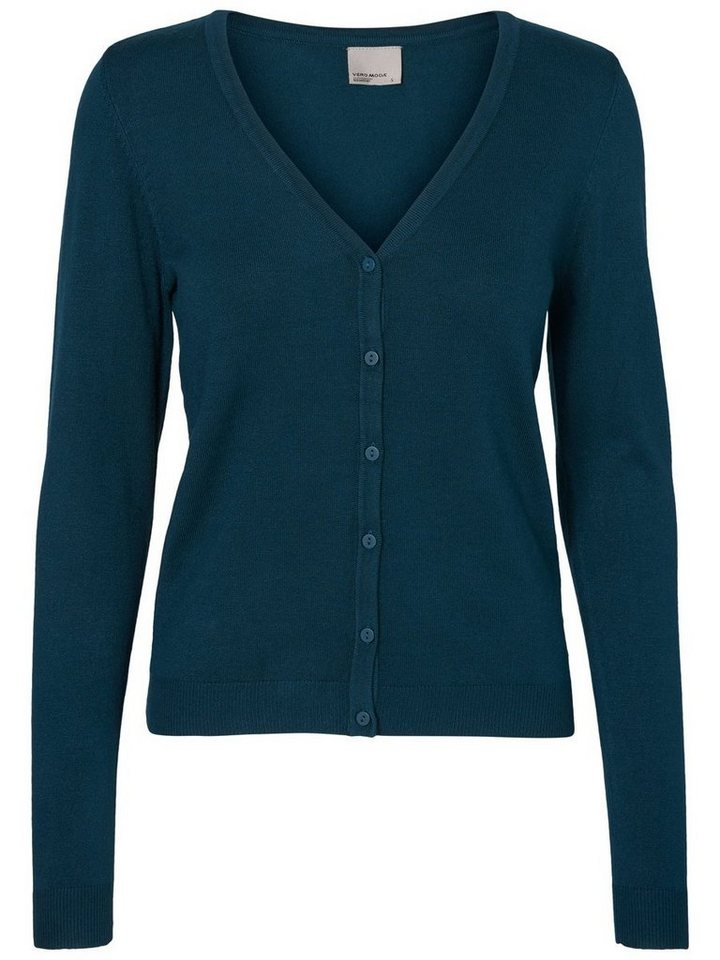 Vero Moda Klassische Strickjacke in Reflecting Pond
