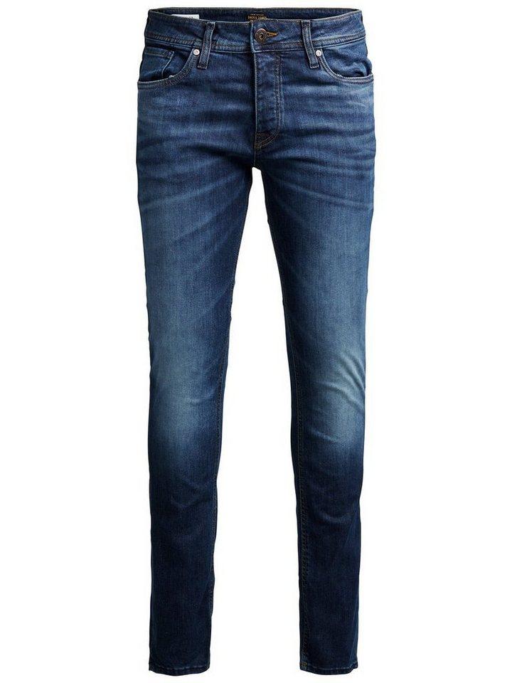 Jack & Jones Tim Original AM 085 Slim Fit Jeans in Blue Denim