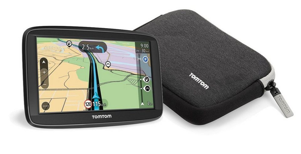 TomTom Navigationsgerät »Start 52 EU T + Tasche« in Schwarz