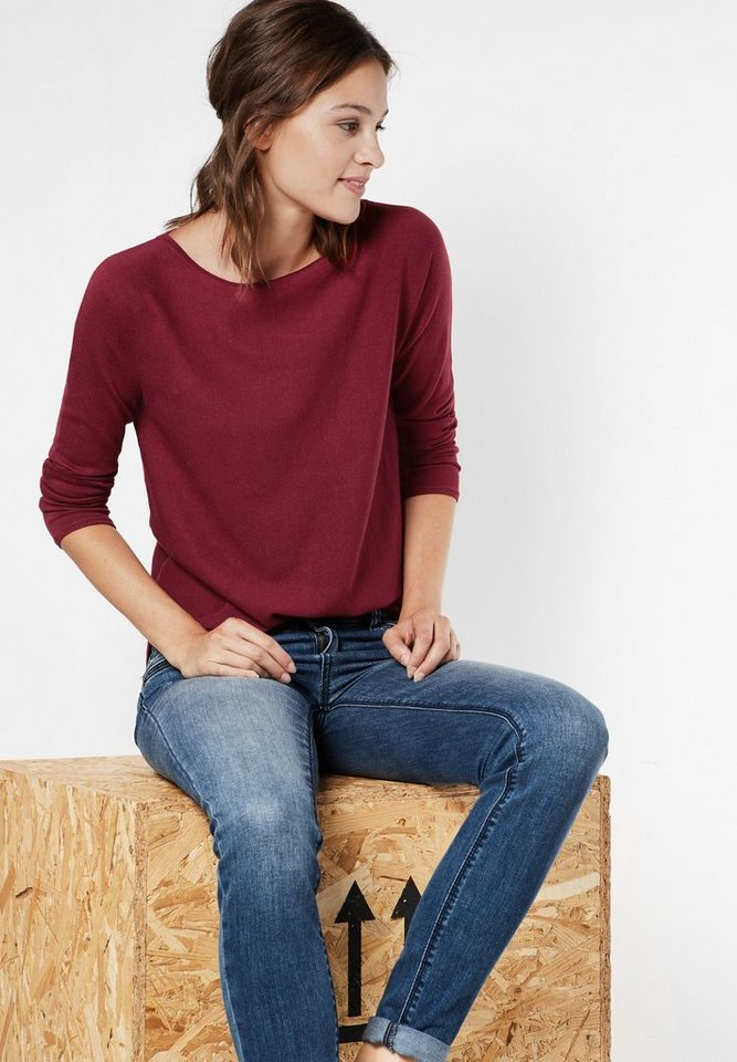 Street One Pullover Amelie in vintage red
