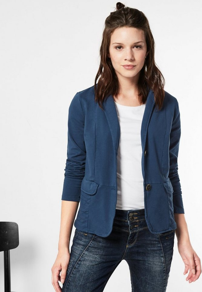 Street One Sweatblazer Kenni in delta blue