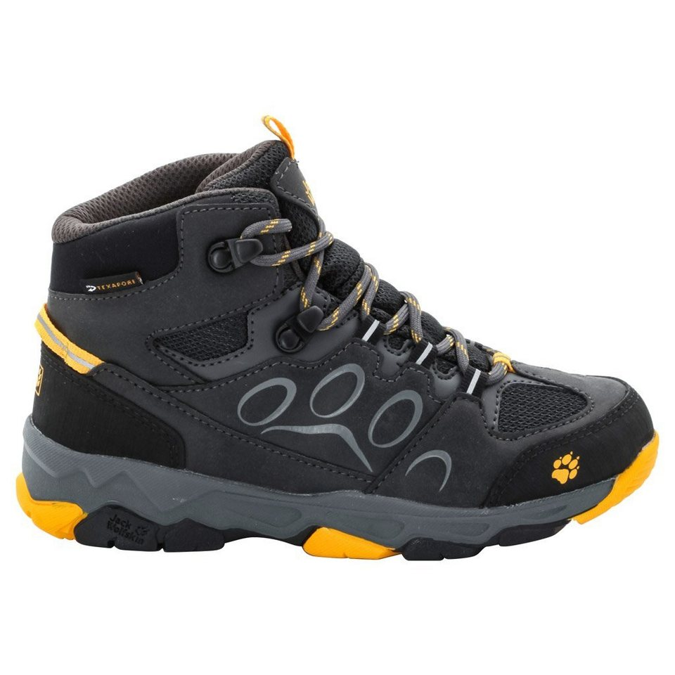 Jack Wolfskin Wanderschuh »MTN ATTACK 2 TEXAPORE MID K« in burly yellow
