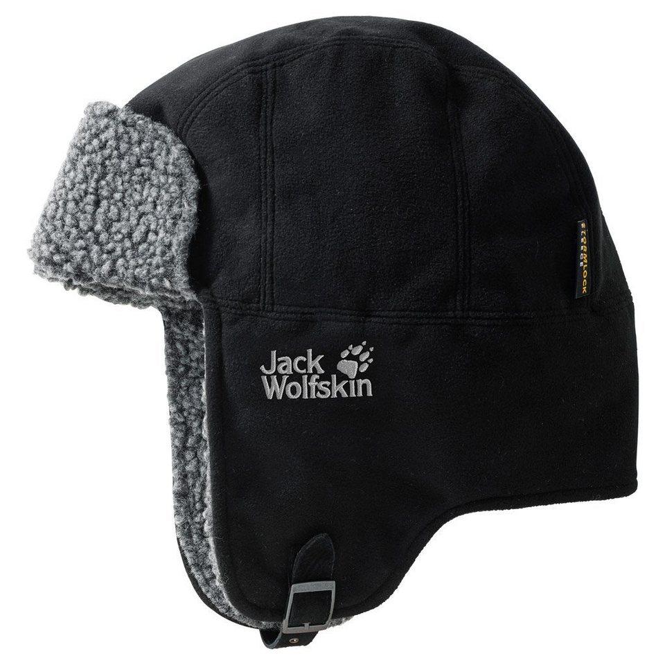 Jack Wolfskin Fleecemütze »STORMLOCK FLEECE SHAPKA« in black