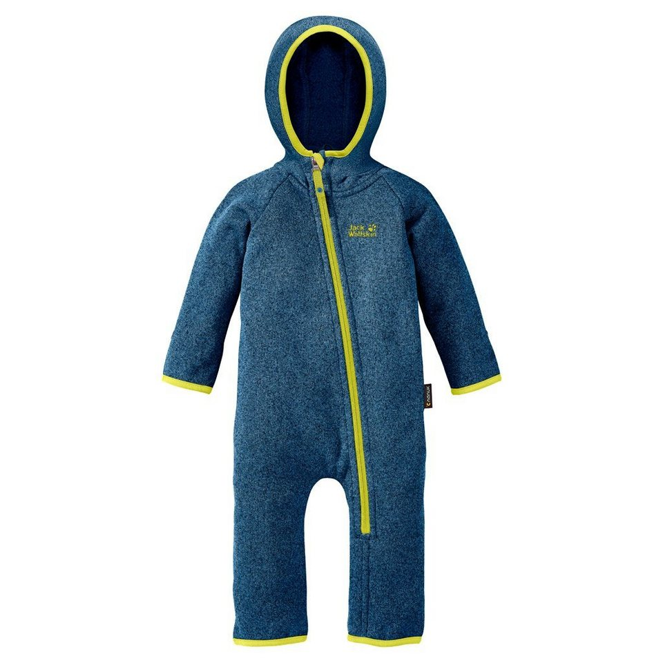 Jack Wolfskin Strampler »MOONCHILD OVERALL KIDS« in glacier blue