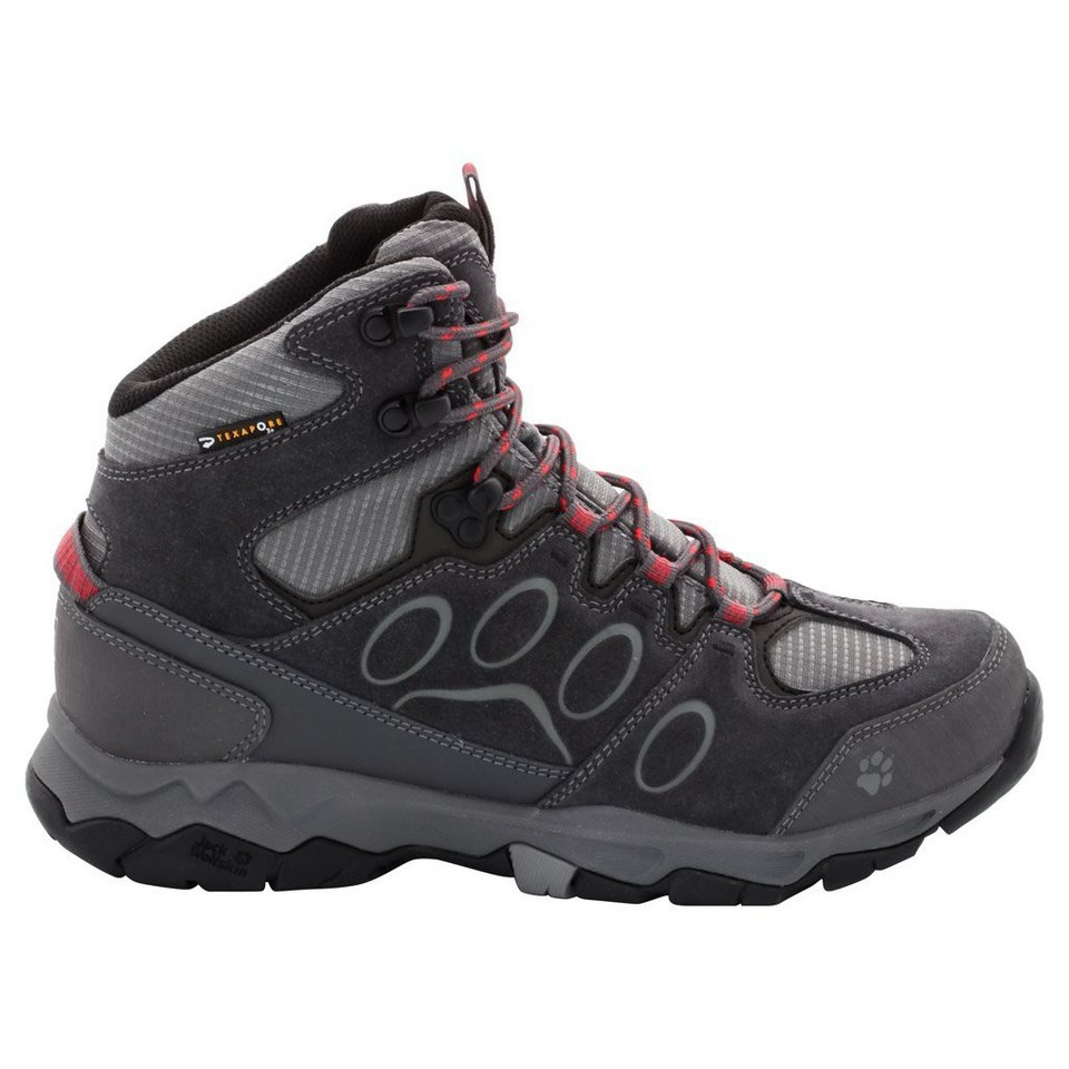 Jack Wolfskin Wanderschuh »MTN ATTACK 5 TEXAPORE MID W« in hibiscus red