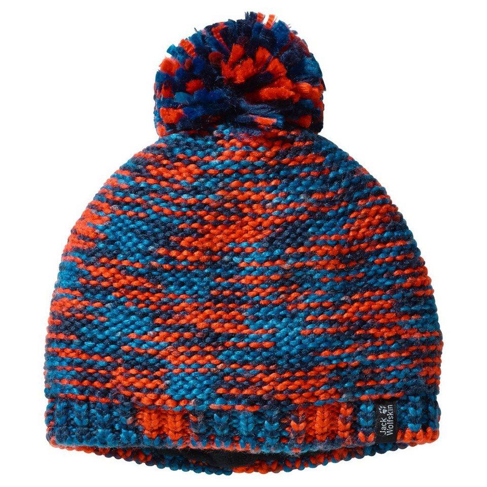 Jack Wolfskin Mütze »KALEIDOSCOPE KNIT CAP KIDS« in glacier blue