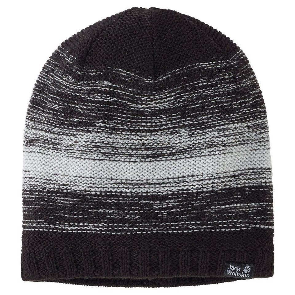 Jack Wolfskin Strickmütze »COLORFLOAT KNIT CAP« in black