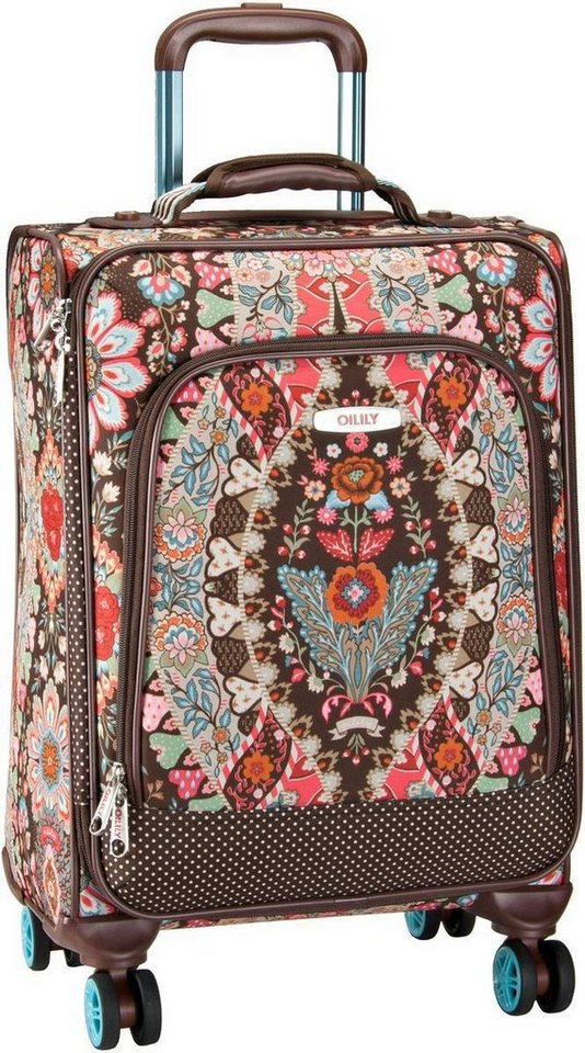 Oilily Travel S Trolley Spinner in Brown
