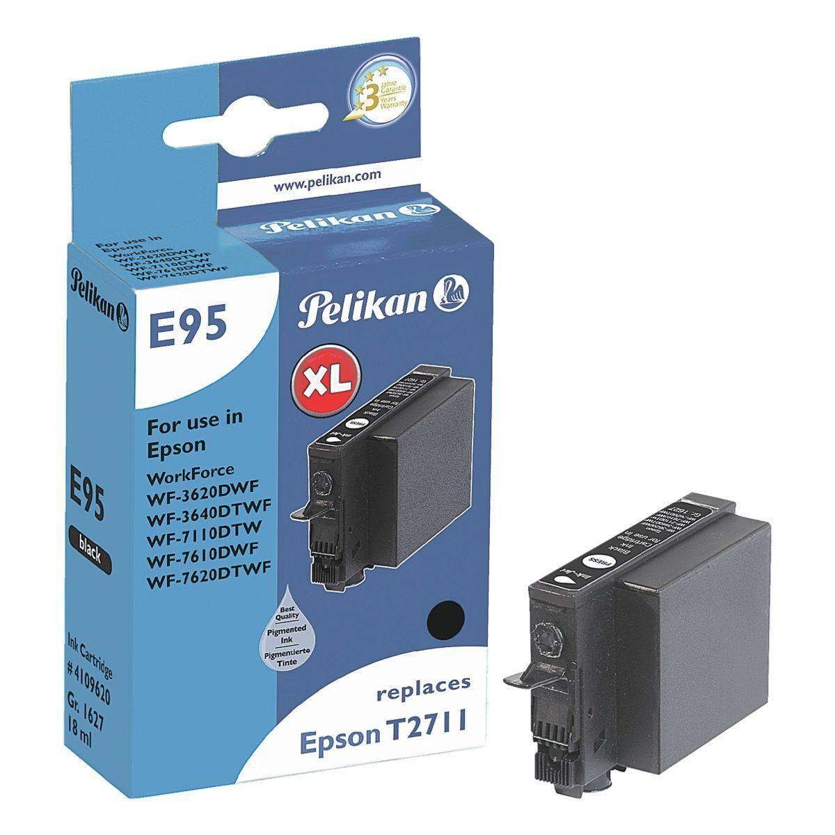 Pelikan Tintenpatrone ersetzt Epson »T2711 SW XL«