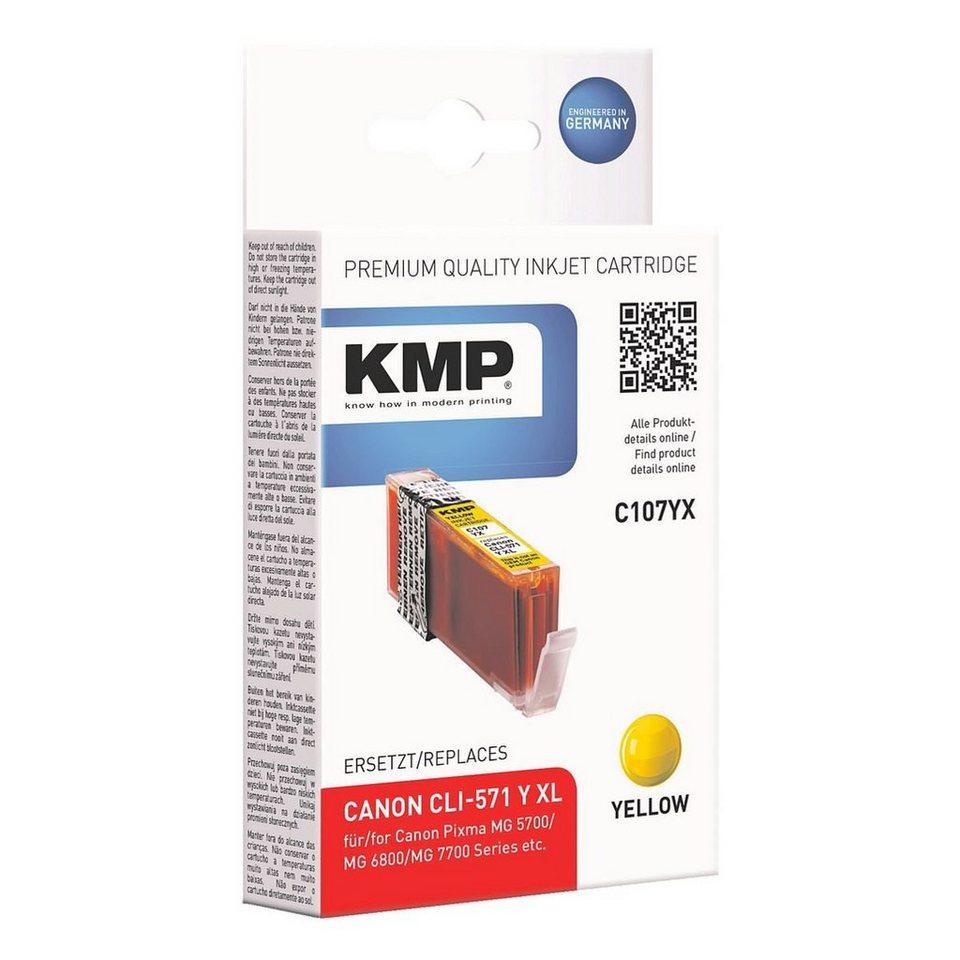 KMP Tintenpatrone ersetzt »CLI-571Y XL«