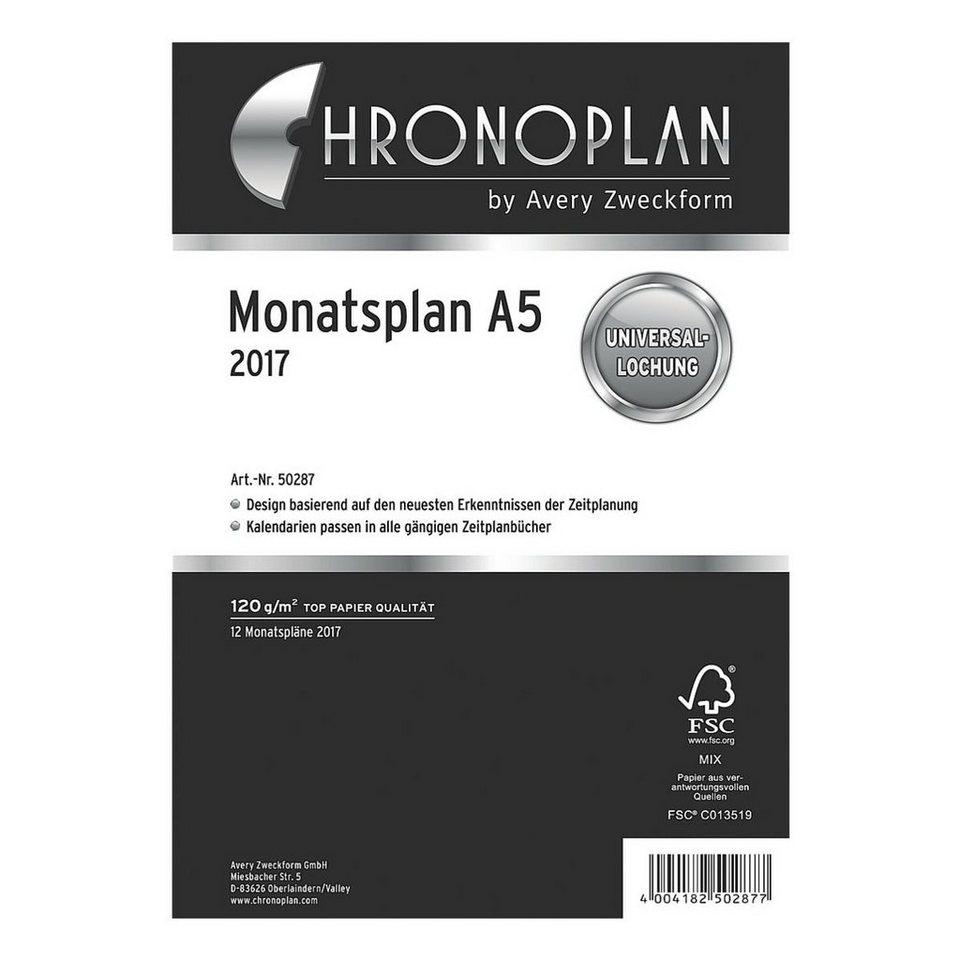 CHRONOPLAN Monatsplan 2017