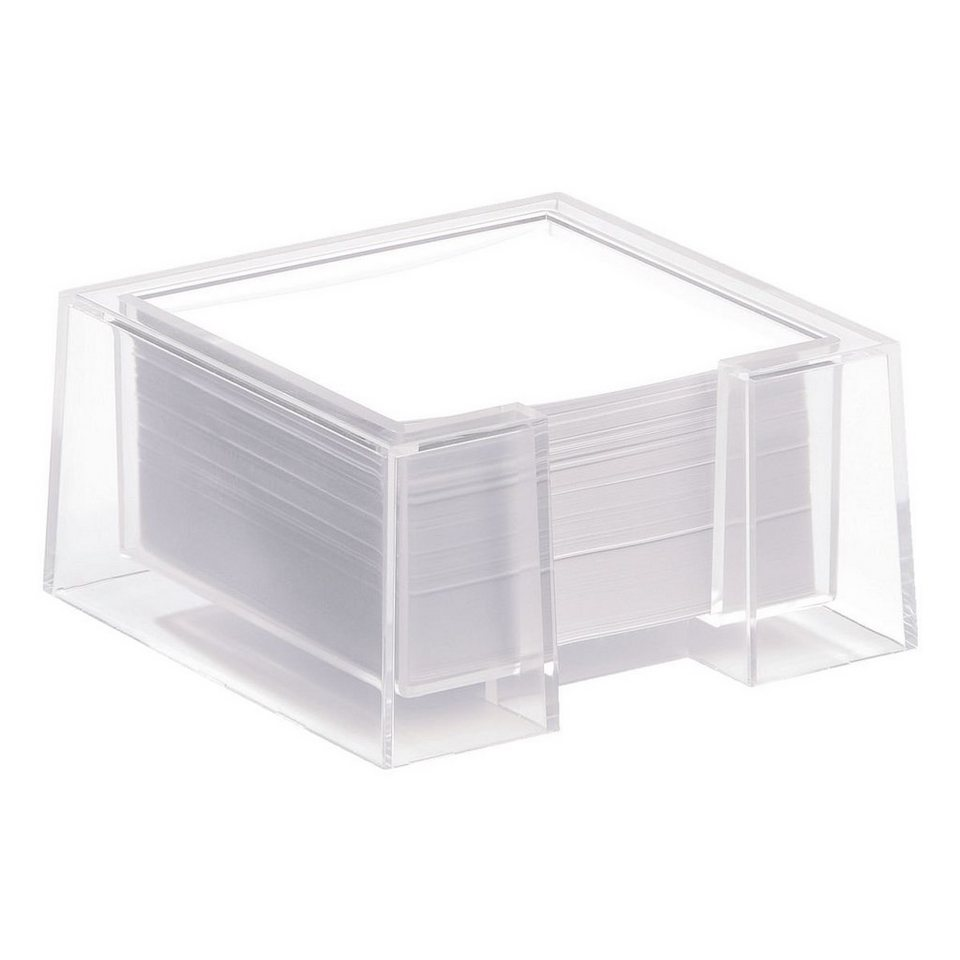 Durable Zettelbox »Cubo« in transparent